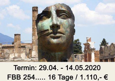 FBB 254 Kalabrien – Italiens Stiefelspitze (Flug/Bus)