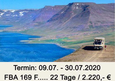 FBA 169 F Island – Hochland und Westfjorde