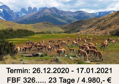 FBF 326 Süd Chile – Patagonien