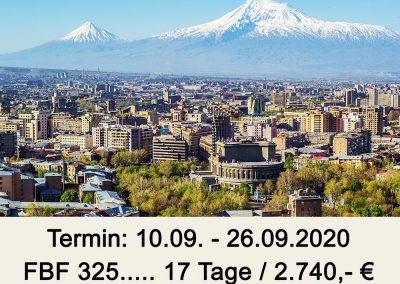 FBF 325 Georgien – Armenien und Bergkarabach