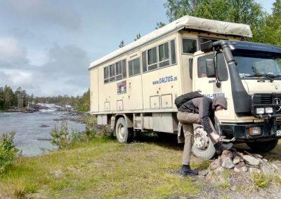 14 Schweden-Bus