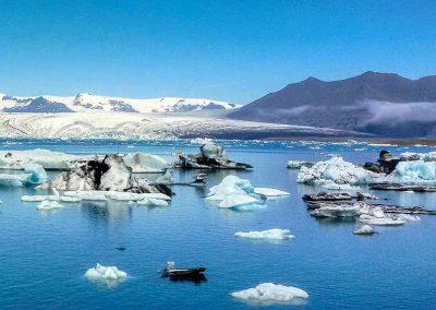 15 Island Eisberge