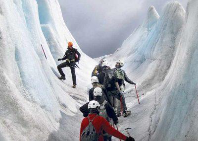 16 Island Gletscherspalte