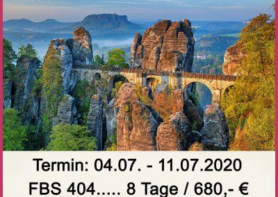 FBS 404 Elbsandsteingebirge